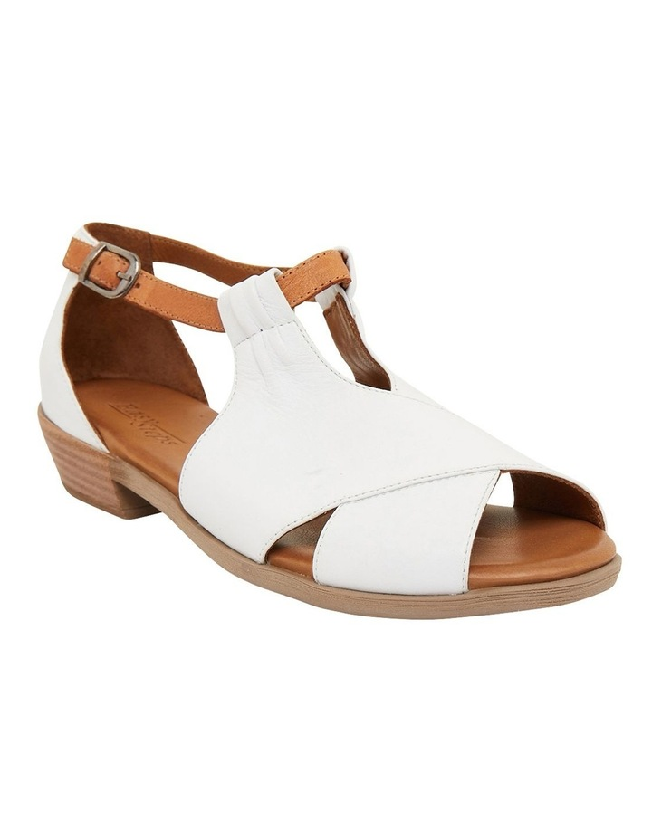 Laguna White/Cognac Glove Sandals image 2