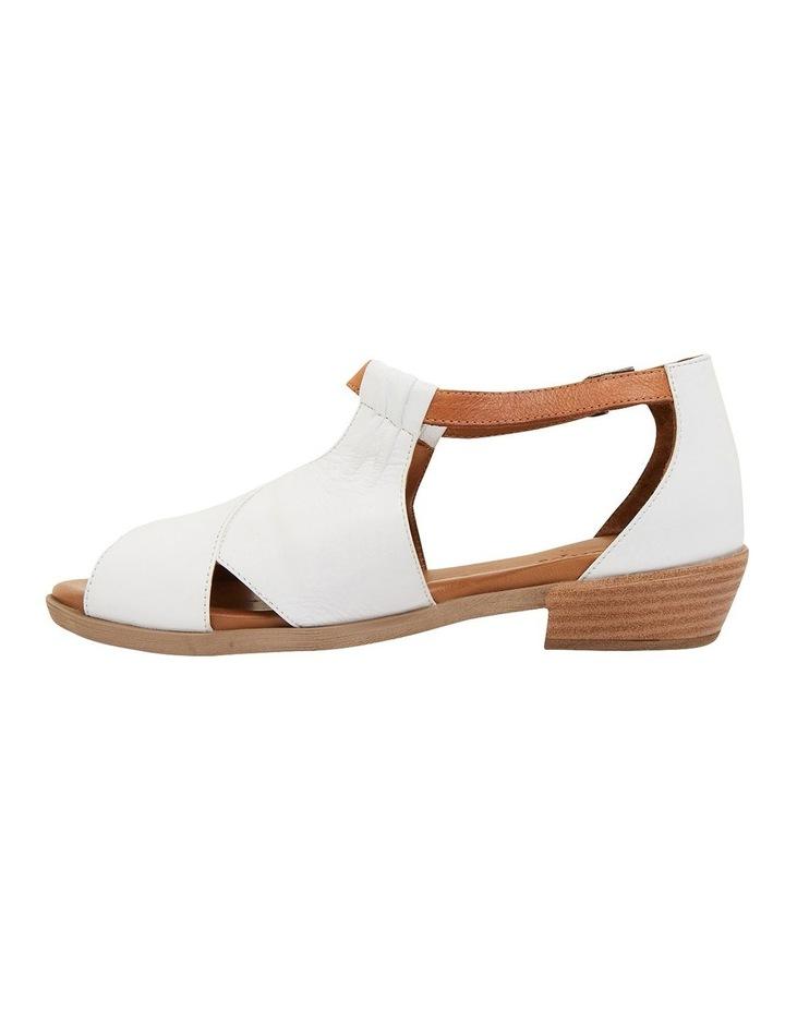 Laguna White/Cognac Glove Sandals image 3