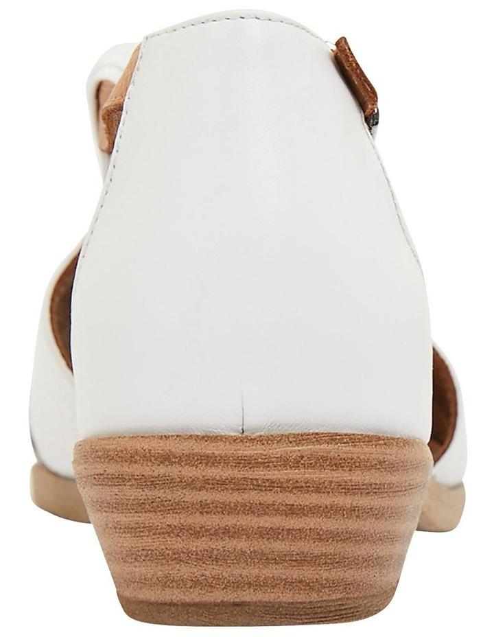 Laguna White/Cognac Glove Sandals image 4