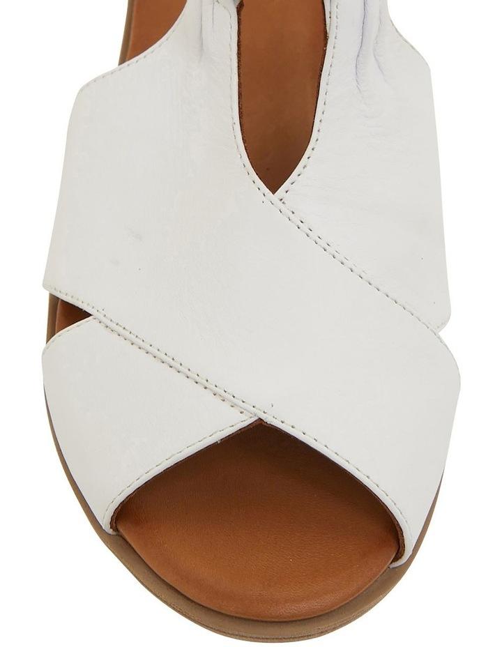 Laguna White/Cognac Glove Sandals image 5