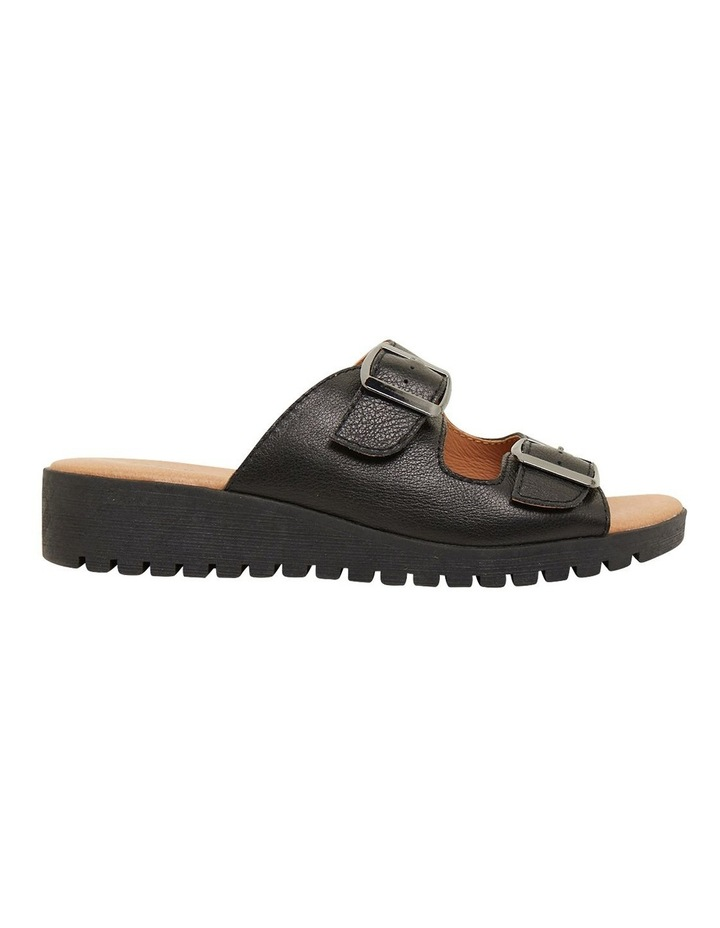 Gadget Black Glove Sandals image 1