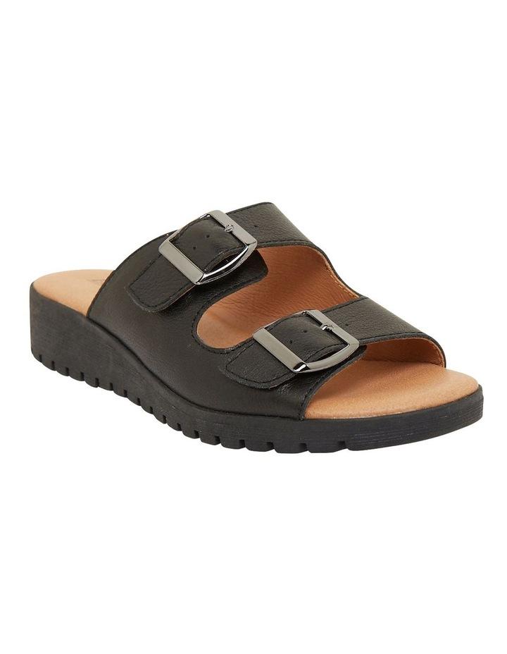 Gadget Black Glove Sandals image 2