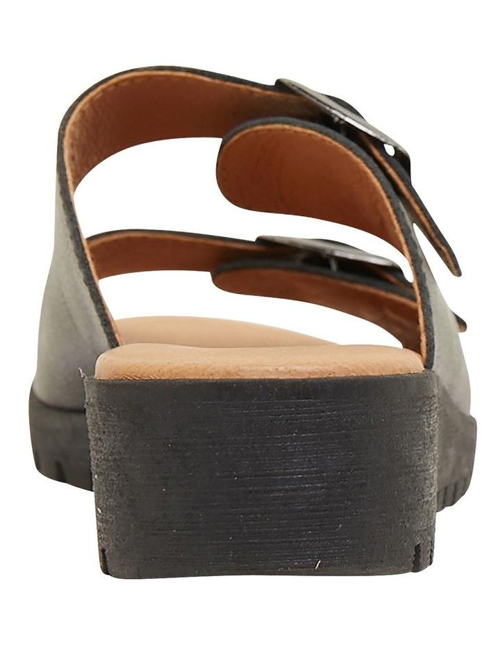 Gadget Black Glove Sandals image 5