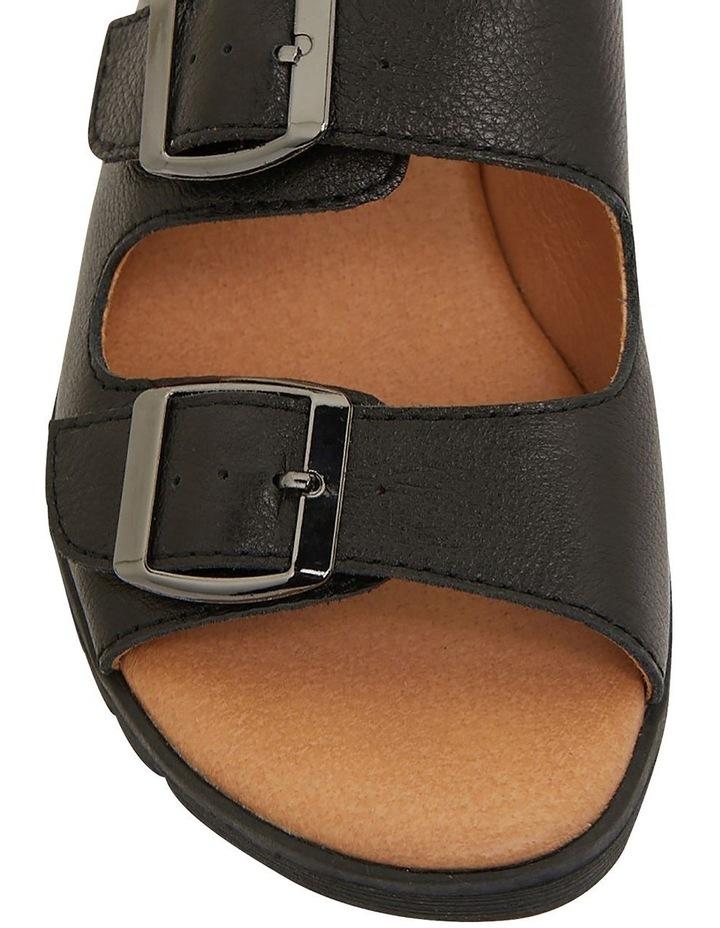 Gadget Black Glove Sandals image 6