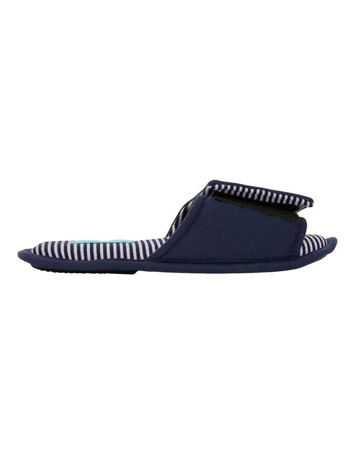 Perry Navy Stripe Slipper image 1