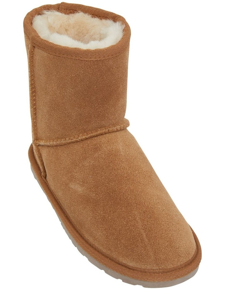 Panda Chestnut Suede Slippers image 2