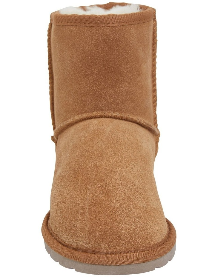 Panda Chestnut Suede Slippers image 3