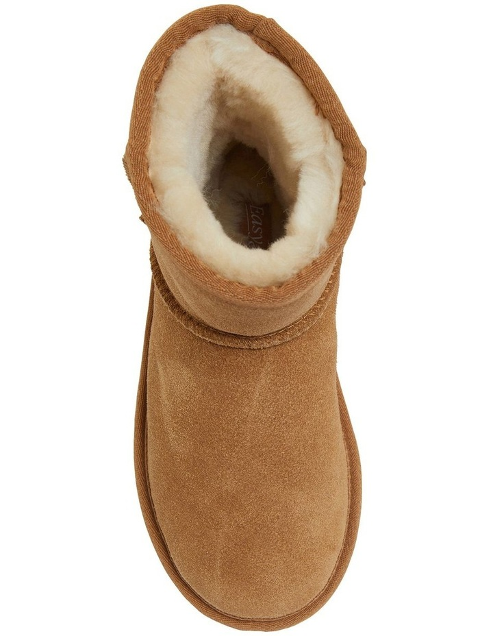 Panda Chestnut Suede Slippers image 4