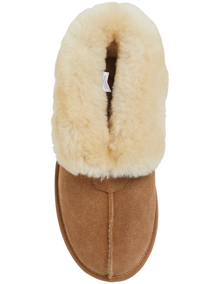 Pixie Chestnut Suede Slippers image 3
