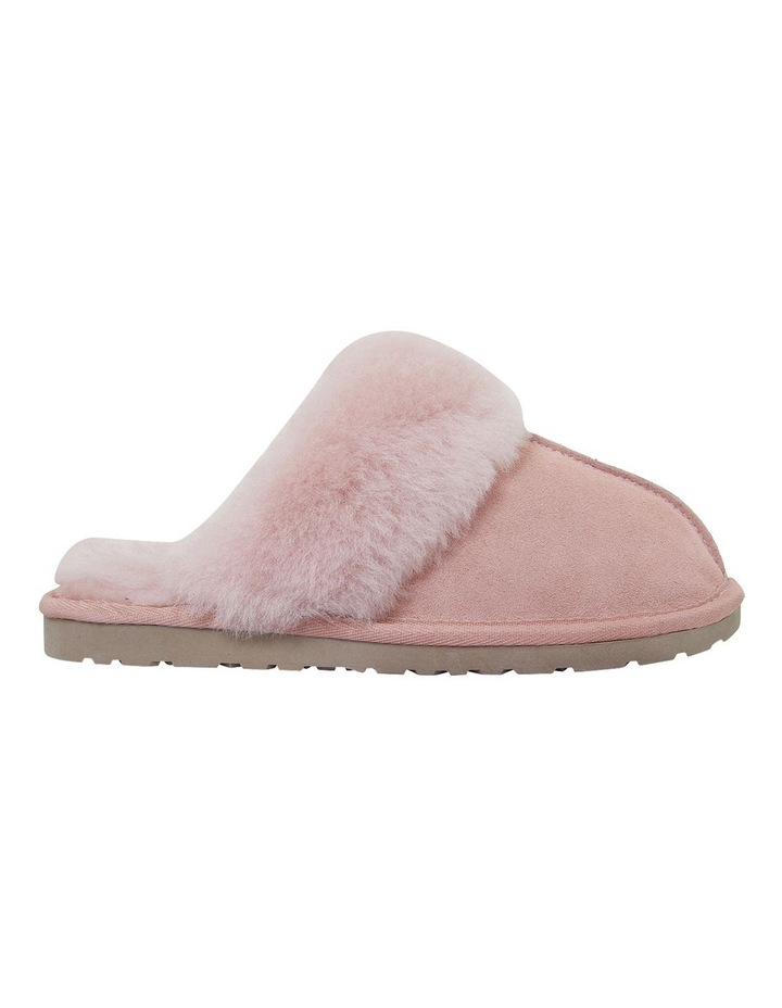 Peggy Pink Suede Slippers image 1