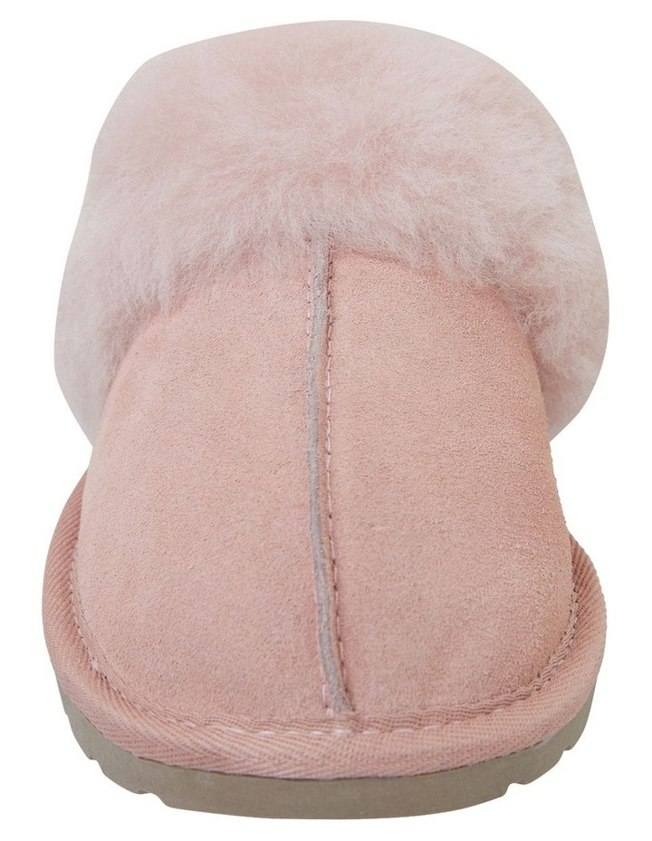 Peggy Pink Suede Slippers image 3