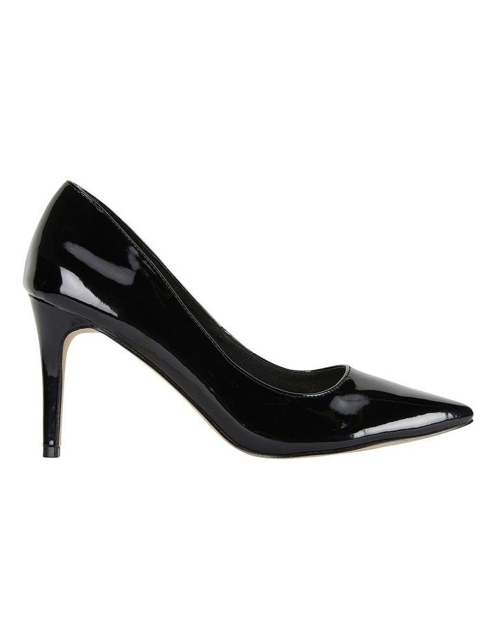 Wild Black Patent Heeled Shoes image 1