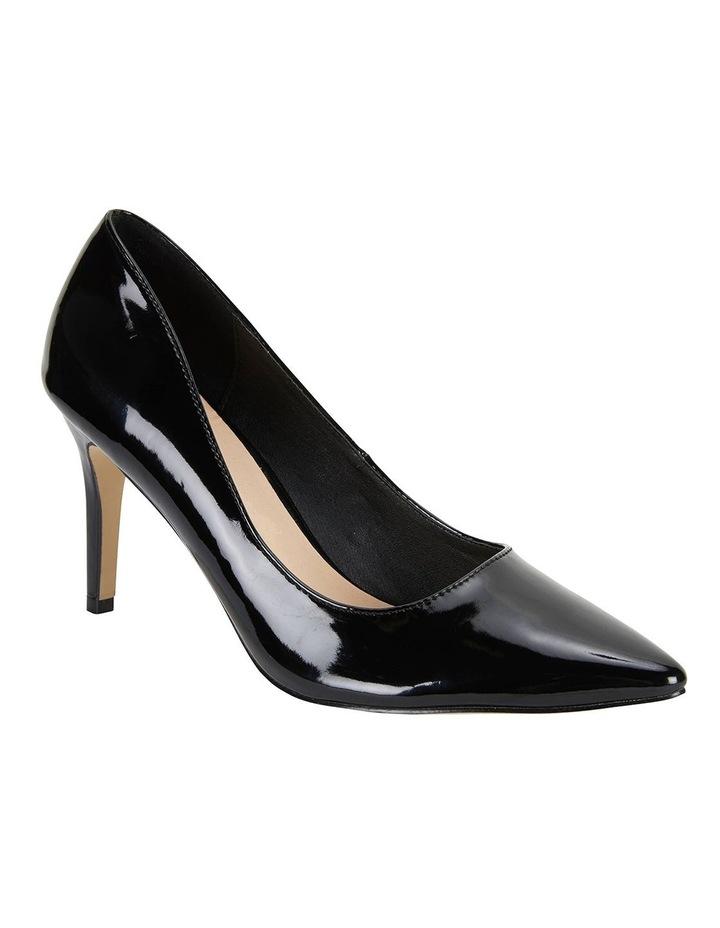 Wild Black Patent Heeled Shoes image 2