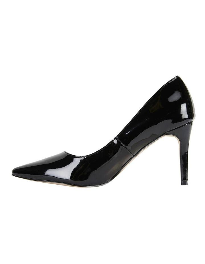 Wild Black Patent Heeled Shoes image 3