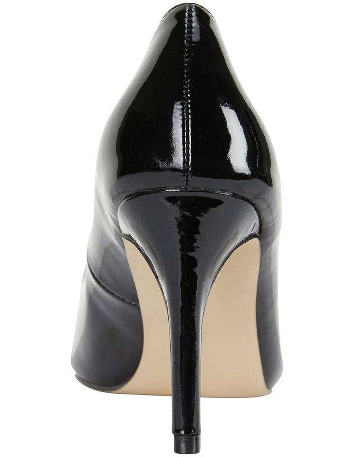 Wild Black Patent Heeled Shoes image 5