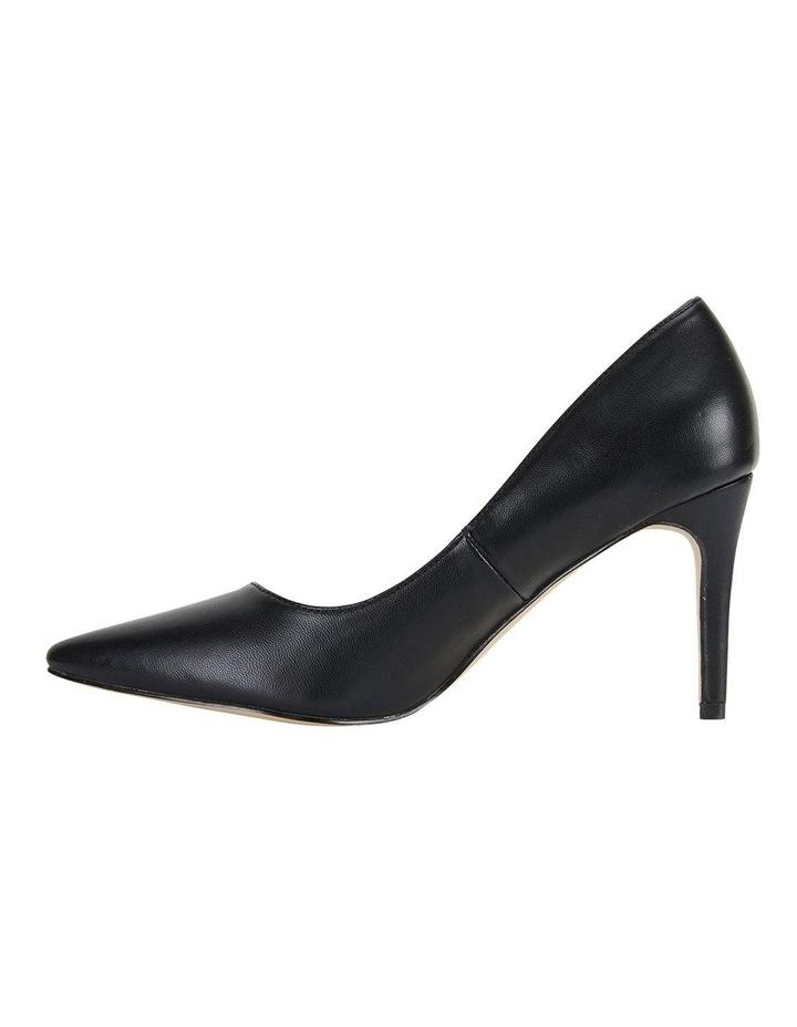 Wild Black Smooth Heeled Shoes image 3