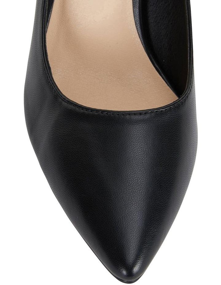 Wild Black Smooth Heeled Shoes image 6