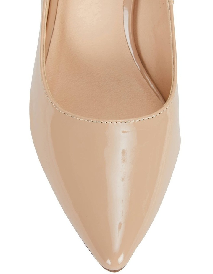 Wild Nude Patent Heeled Shoes image 6