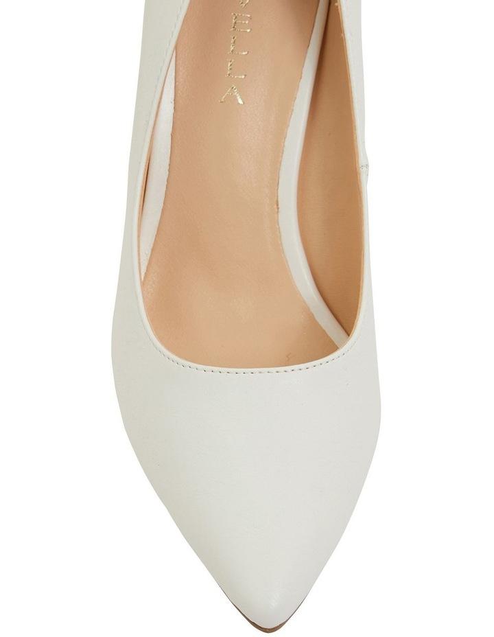 Wild White Smooth Heeled Shoes image 7