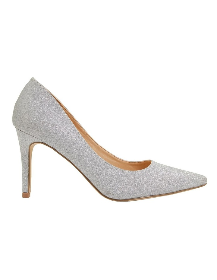 Wild Silver Glitter Heeled Shoes image 1