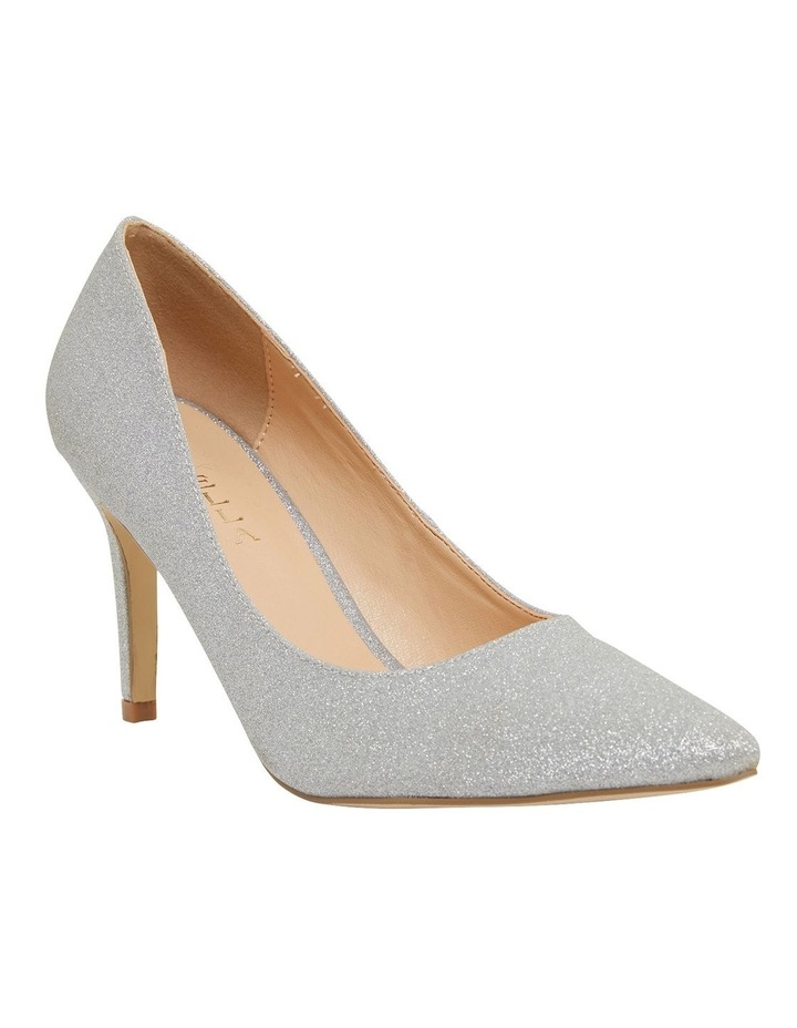 Wild Silver Glitter Heeled Shoes image 2