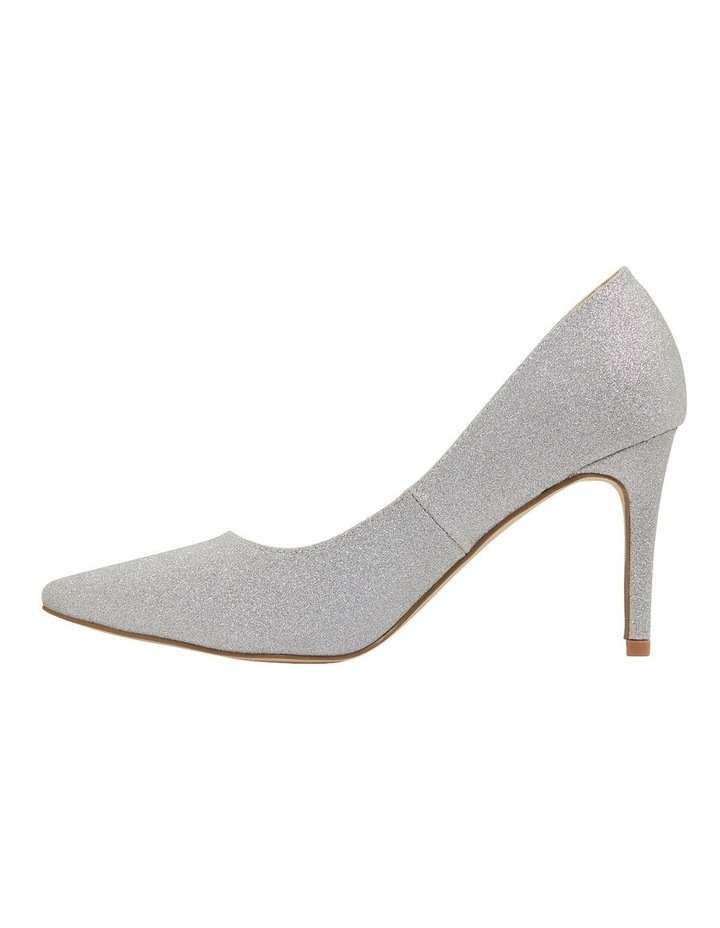 Wild Silver Glitter Heeled Shoes image 3