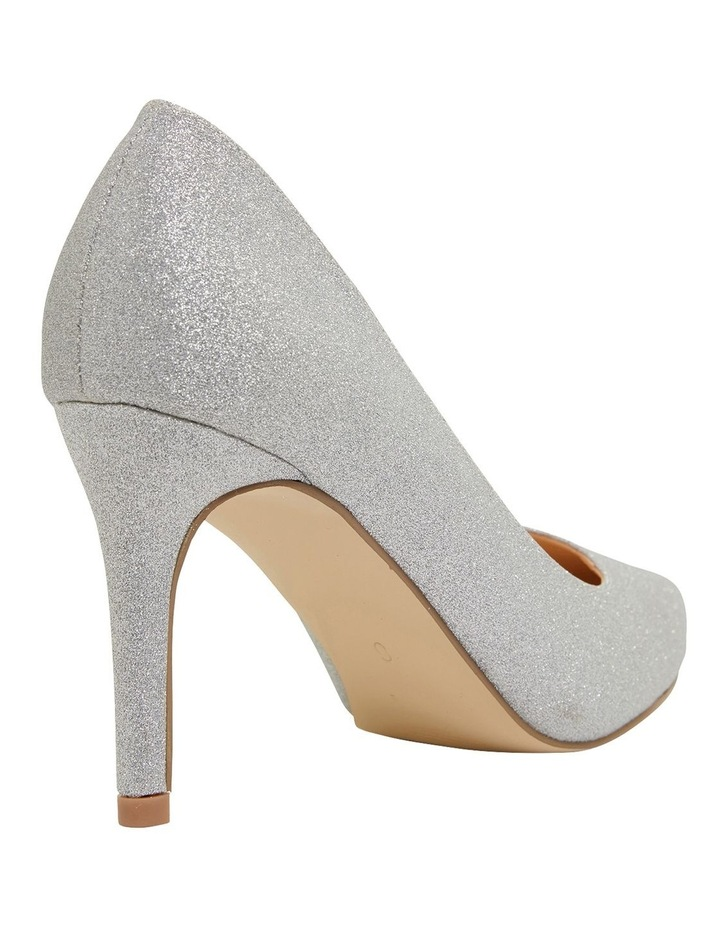 Wild Silver Glitter Heeled Shoes image 4