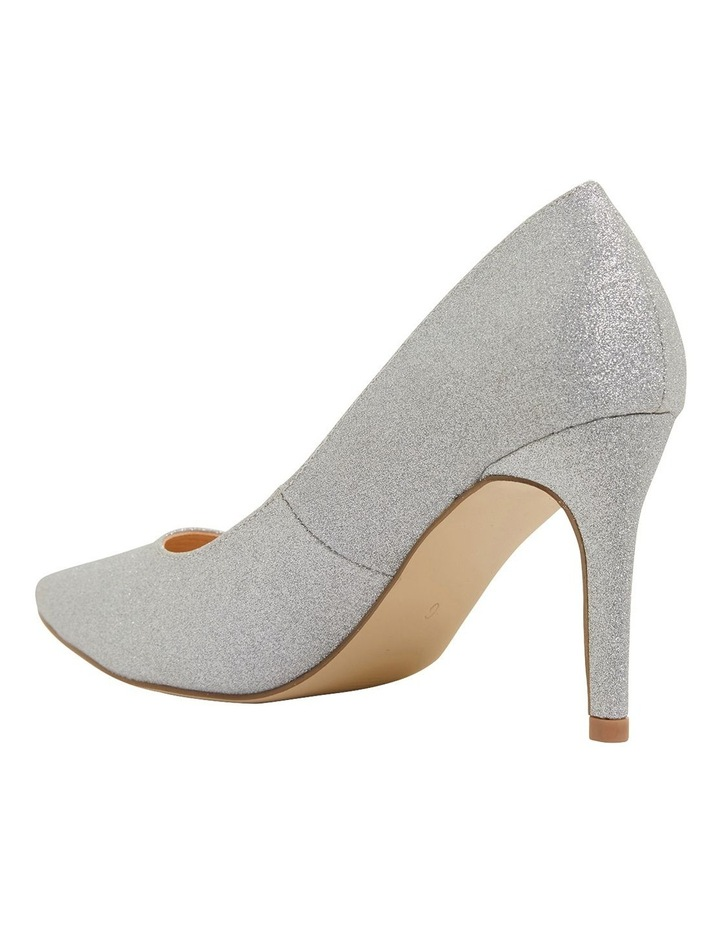 Wild Silver Glitter Heeled Shoes image 6