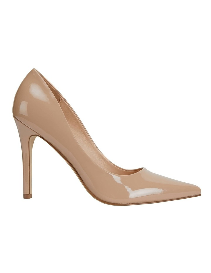 Harbour Nude Patent Heeled Shoes image 1