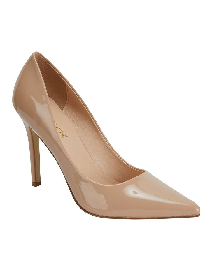 Harbour Nude Patent Heeled Shoes image 2