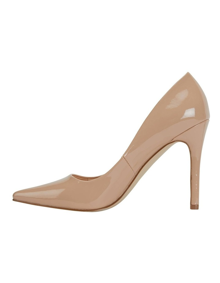 Harbour Nude Patent Heeled Shoes image 3