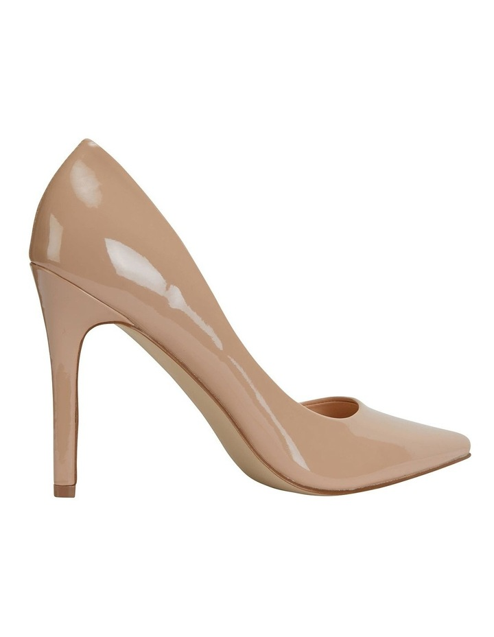 Harbour Nude Patent Heeled Shoes image 4