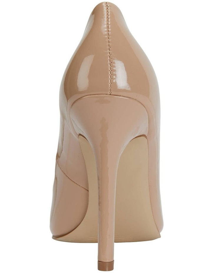 Harbour Nude Patent Heeled Shoes image 5