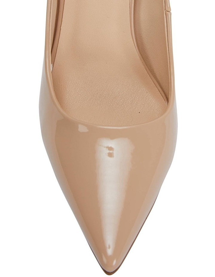 Harbour Nude Patent Heeled Shoes image 6