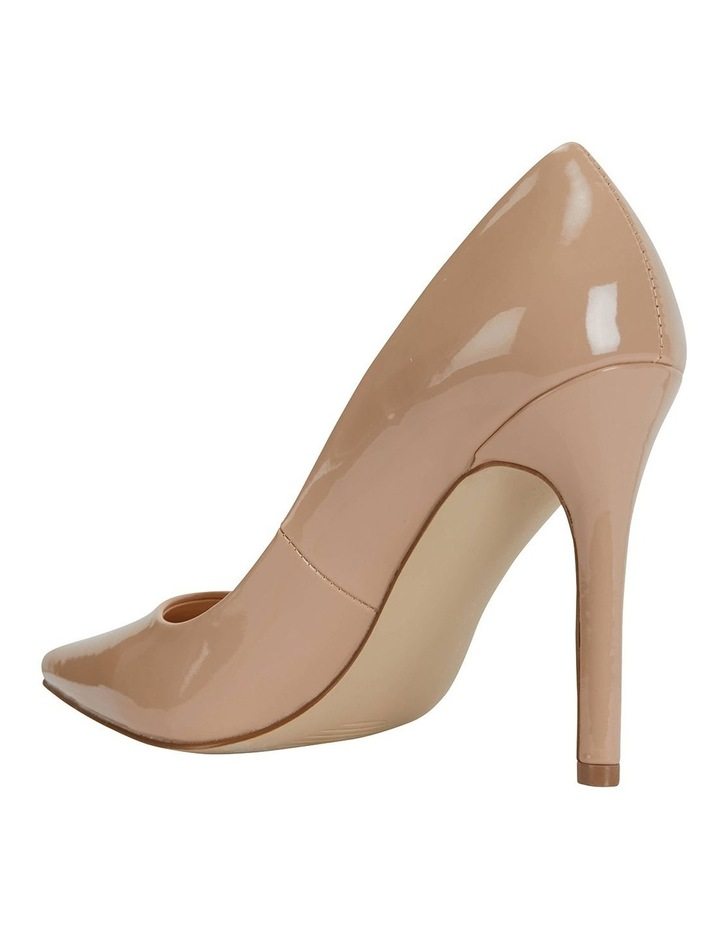 Harbour Nude Patent Heeled Shoes image 7