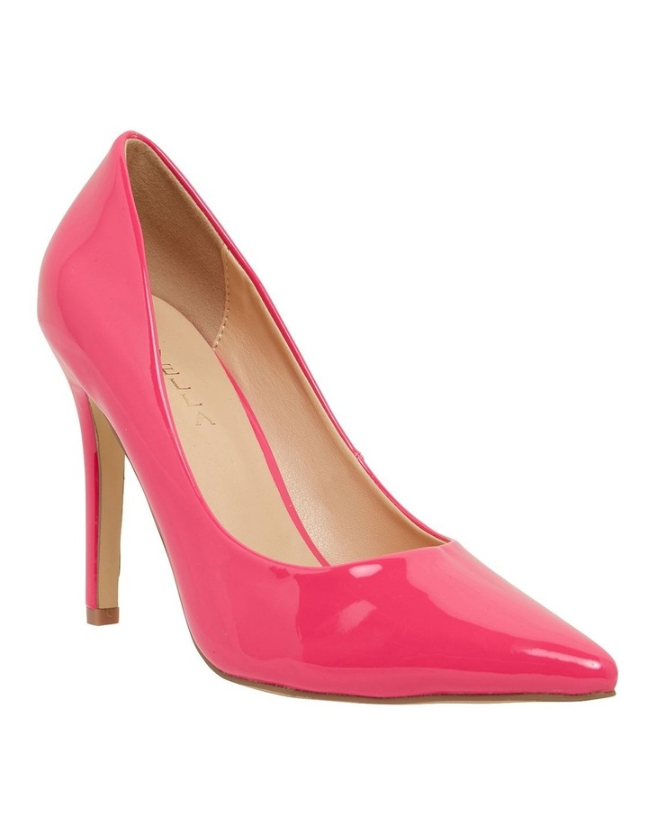 Harbour Pink Patent Heeled Shoes image 2