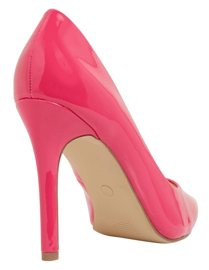 Harbour Pink Patent Heeled Shoes image 4
