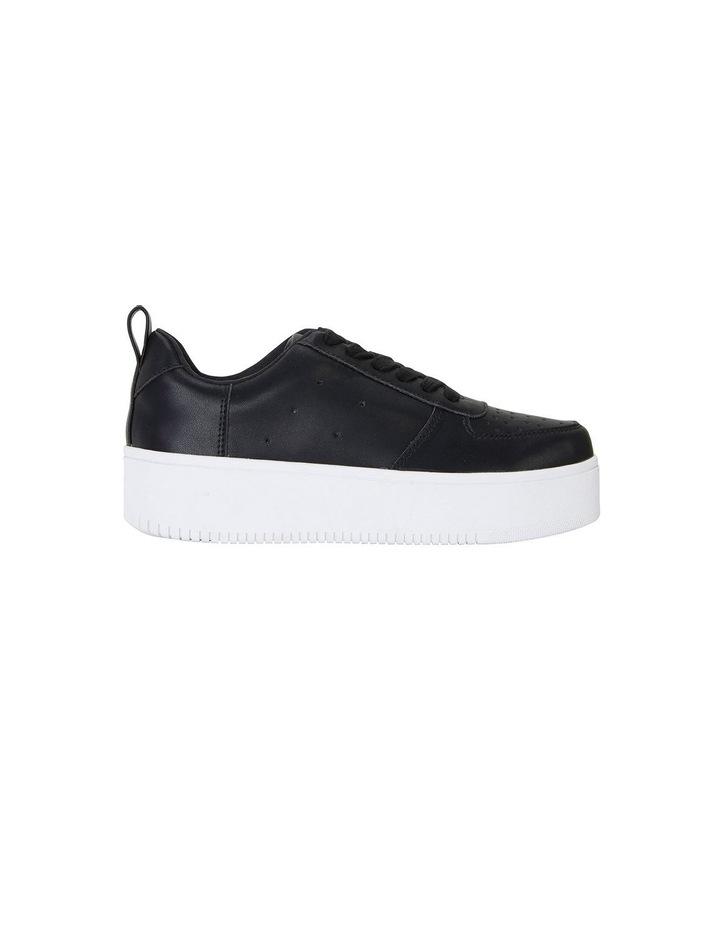 Peppy Black Smooth Sneakers image 1