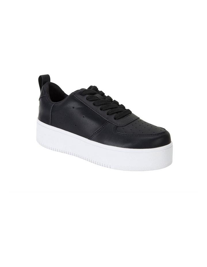 Peppy Black Smooth Sneakers image 2