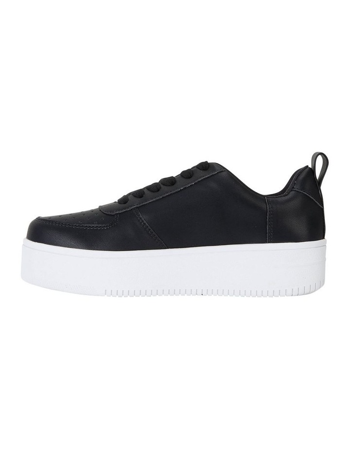 Peppy Black Smooth Sneakers image 3