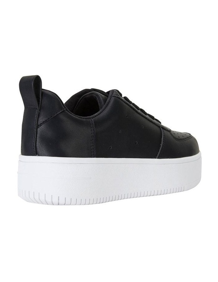 Peppy Black Smooth Sneakers image 4