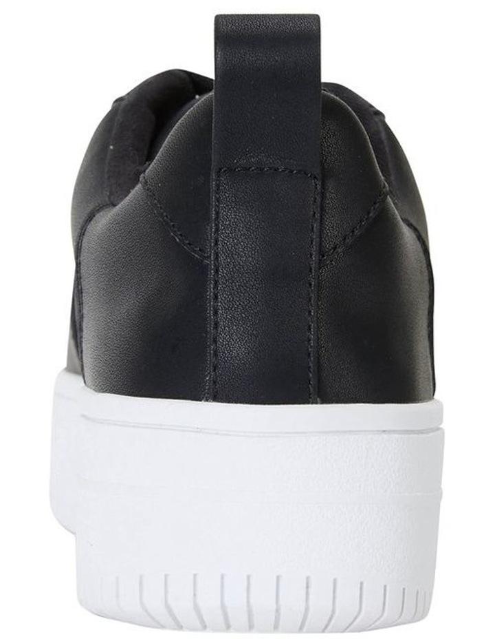 Peppy Black Smooth Sneakers image 5