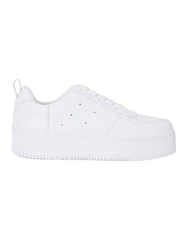 Peppy White Smooth Sneakers image 1
