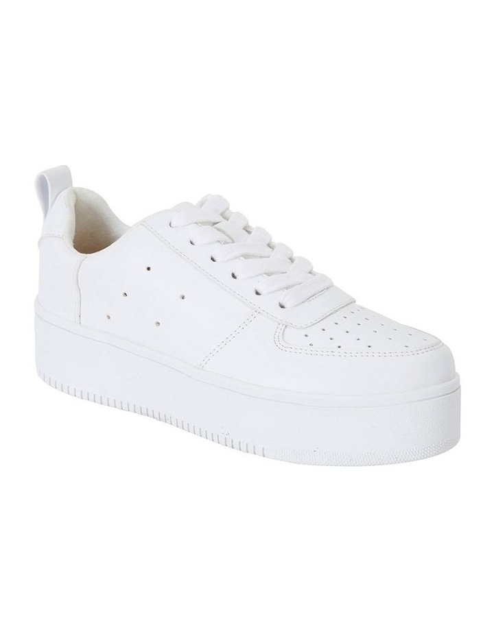 Peppy White Smooth Sneakers image 2