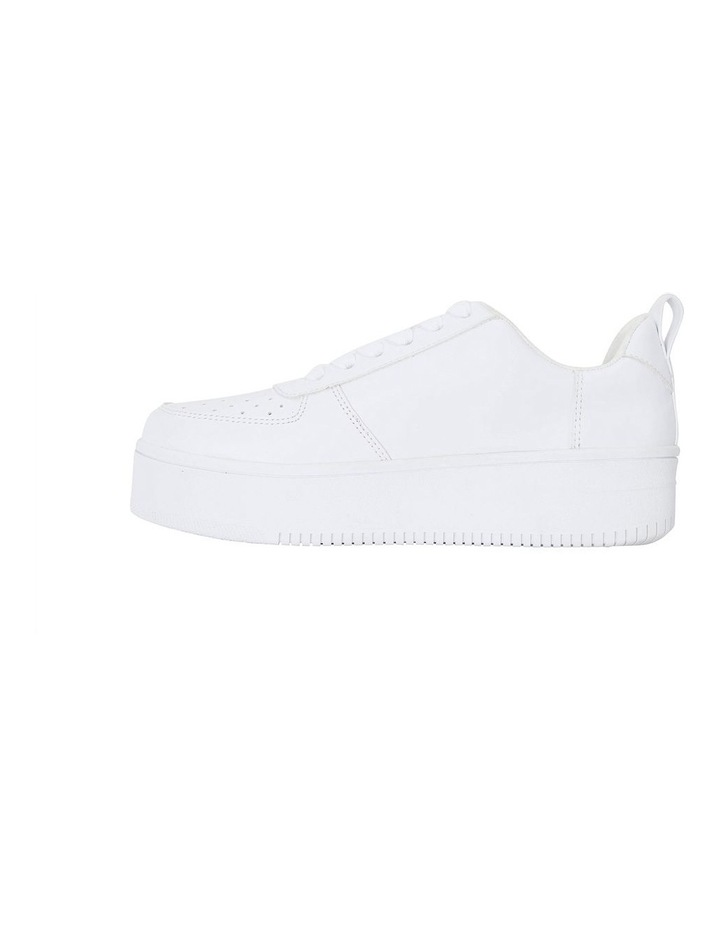 Peppy White Smooth Sneakers image 3
