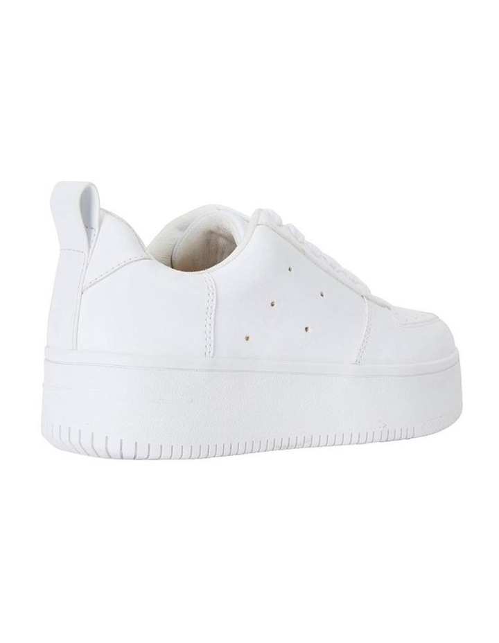 Peppy White Smooth Sneakers image 4
