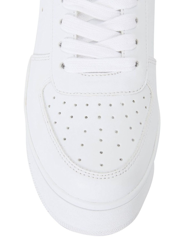 Peppy White Smooth Sneakers image 6