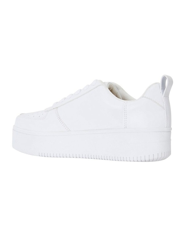 Peppy White Smooth Sneakers image 7