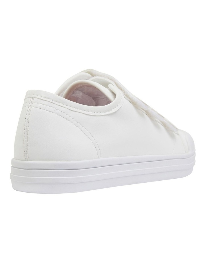 Veda White Smooth Sneakers image 4