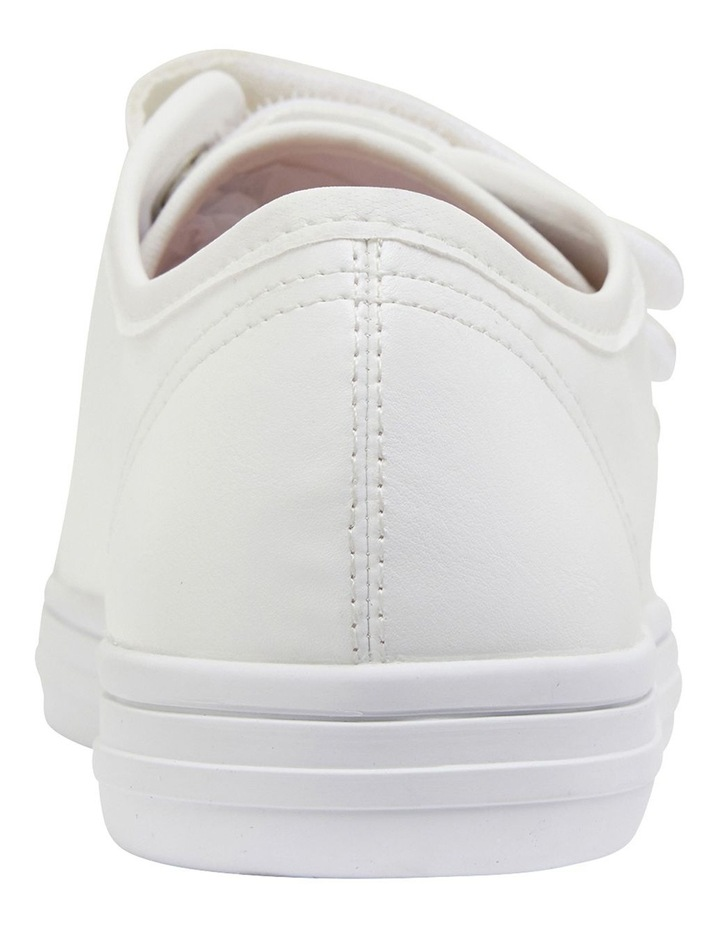 Veda White Smooth Sneakers image 5